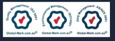 three environmental management logo