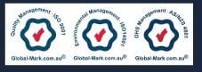three environmental management logo